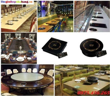 Bán bếp lẩu từ âm bàn tròn , bếp lẩu từ âm bàn vuông giá rẻ nhất hiện nay
