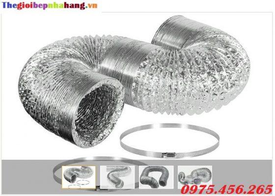 Bán ống bạc mềm , ống gió mềm hút khói , hút khí nóng giá tốt nhất hiện nay