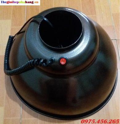 Chao đèn ống hút khói bếp nướng tại bàn nhà hàng giá rẻ nhất tại hà nội