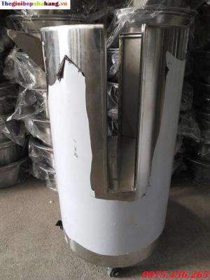 Giá bán xe đẩy vỉ nướng than hoa không khói tại hà nội