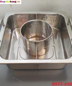 Bán nồi nấu lẩu inox 3 ngăn giá rẻ nhất hiện nay