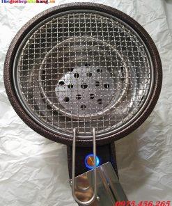 Giá bếp nướng than hoa không khói tại hà nội