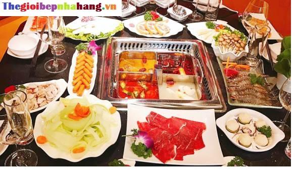 Mua bếp lẩu 4 ngăn âm bàn Hong Kong giá rẻ nhất ở đâu