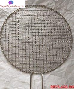 Vỉ nướng inox lưới mắt cáo 1.8ly bếp nướng than hoa không khói tại Hồ Chí Minh