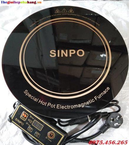 Bếp lẩu từ âm bàn tròn Sinpo công suất 2000W giá tốt nhất tại Hà Nội