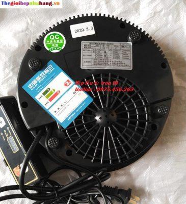Mặt sau bếp lẩu từ tròn âm bàn IH công suất 1200W