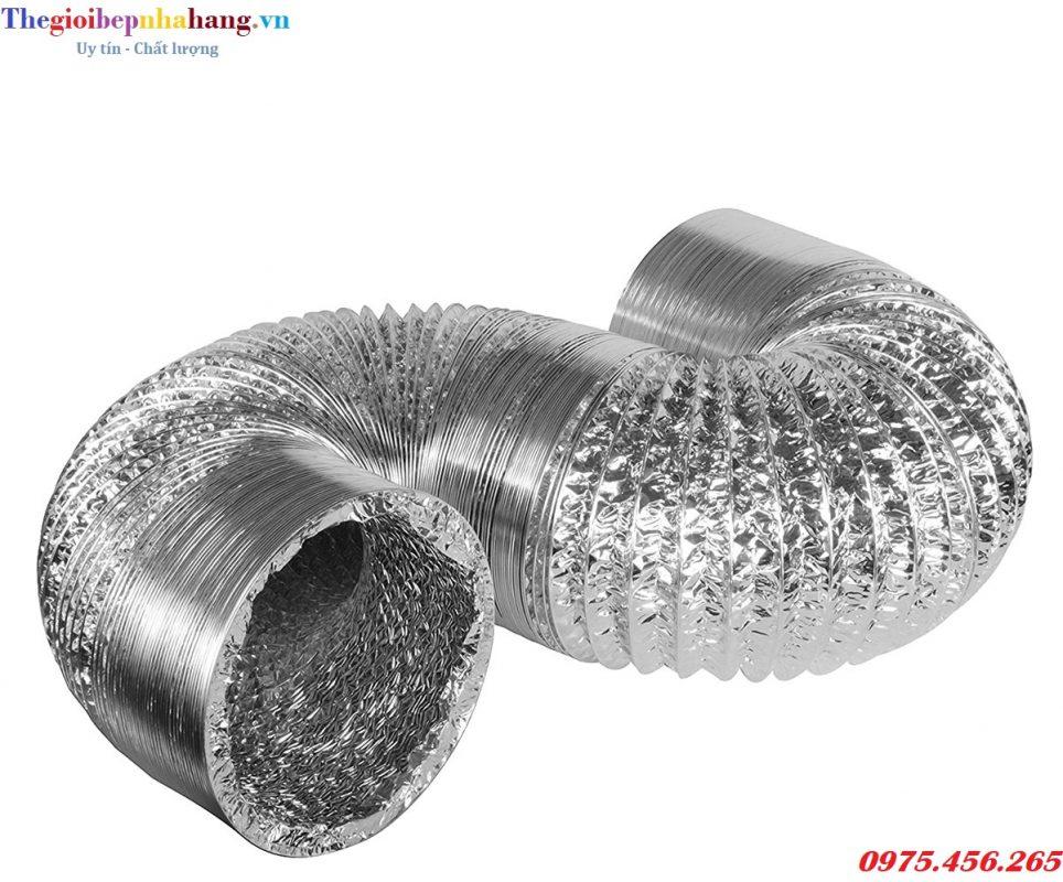 Ống bạc mềm , ống gió mềm hút mùi , hút khí giá rẻ nhất tại hà nội