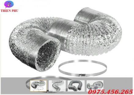 Bán ống bạc mềm - ống gió mềm hút mùi khói khí nóng giá tốt nhất tại Hà Nội