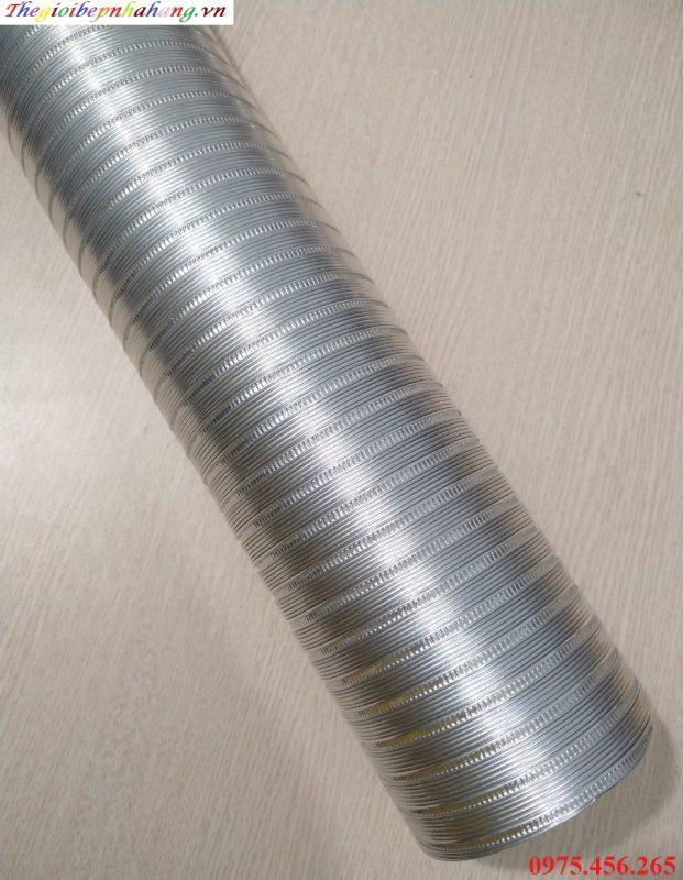 Giá ống gió mềm nhôm nhún hút mùi thông gió tại hà nội
