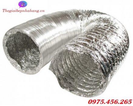 Mua ống gió mềm - ống bạc mềm hút mùi thông gió giá rẻ nhất ở đâu