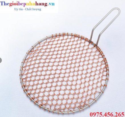 Vỉ nướng đồng dạng lưới có tay cầm chất lượng cao tại hà nội