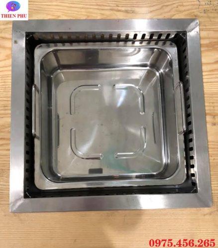 Bán bếp lẩu 1 ngăn âm bàn khung bằng giá rẻ , chất lượng cao tại Hà Nội