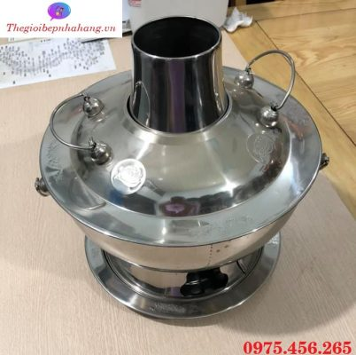 Bếp - nồi lẩu cù lao nấu lẩu inox màu bạc giá tốt nhất tại Hồ Chí Minh