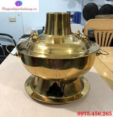 Bếp - nồi lẩu cù lao nấu lẩu inox màu vàng giá rẻ , uy tín tại Hồ Chí Minh