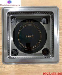 Bộ khung đỡ bếp từ lẩu âm bàn tròn có hút mùi khói giá rẻ , chất lượng tại Hồ Chí Minh