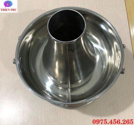 Cung cấp bếp - nồi lẩu cù lao inox màu bạc giá rẻ , uy tín , chất lượng tại Hà Nội