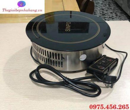 Giá bán bếp hồng ngoại âm bàn tròn Sinpo chính hãng , uy tín , chất lượng tại Hà Nội
