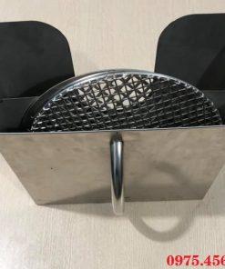Giá bán giỏ xách vỉ nướng - hộp xách vỉ nướng bếp nướng âm bàn nhà hàng tại Hà Nội