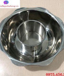 Mua nồi - xoong nấu lẩu inox 3 ngăn tròn giá rẻ nhất ở đâu tại Hà Nội