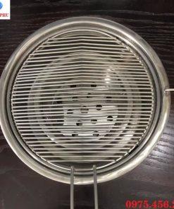 Mua vỉ nướng inox sóng ngang bếp ( lò) nướng than hoa âm bàn hút dương tại Hà Nội