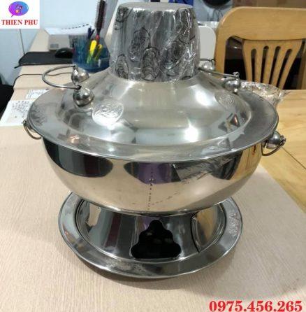 Nơi bán bếp - nồi lẩu cù lao nấu lẩu inox màu bạc giá rẻ tại Hồ Chí Minh