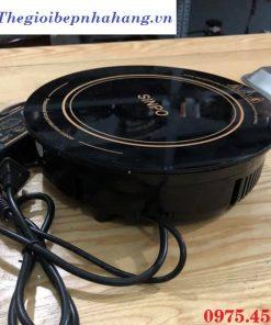 Phần thân bếp từ lẩu âm bàn tròn Sinpo 1200w chính hãng , giá rẻ tại Hồ Chí Minh